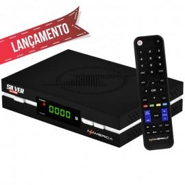 RECEPTOR AZAMERICA SILVER GX PRO 4K UlTRA HD WI-Fi ACM