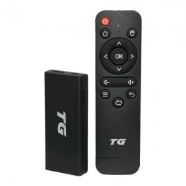 Receptor TG Stick 4K - 2/16GB - Wi-Fi - Android 9.0 - IPTV - F.T.A