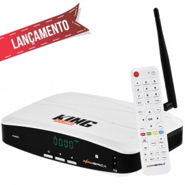 RECEPTOR AZAMERICA KING GX PRO 4K Ultra HD Wi-Fi ACM